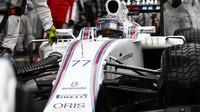 Valtteri Bottas před závodem v Monaku