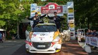 Autoklub Peugeot Rally Talent s Filipem Marešem vítězí na Rallye Český Krumlov - anotační foto