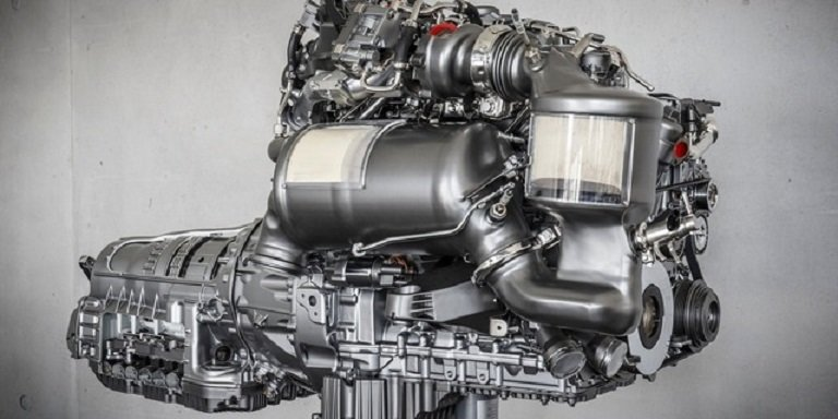 Mercedes chce instalovat filtr pevných částic do svých benzinových motorů - anotační foto