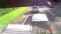 VIDEO: Tohle je děsivě vypadající nehoda kamionu, kterou natočila palubní kamera - anotační foto