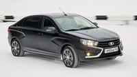 Lada Vesta dostala prodlouženou verzi Signature. Zatím bude vozit výhradně papaláše - anotační foto
