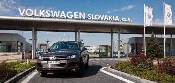 Volkswagen Slovakia slaví 25 let, celkem vyrobil už přes 4,5 milionu aut - anotační foto