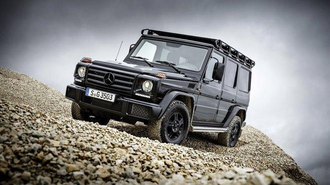 Mercedes-Benz G 350 d Professional je nejrustikálnějším modelem v nabídce německé automobilky.