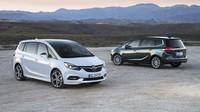 Opel Zafira přišel o originální přední část, prostornost ale zůstala - anotační foto