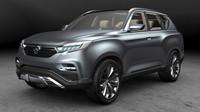 SsangYong LIV-1 je předobrazem nástupce SUV Rexton.