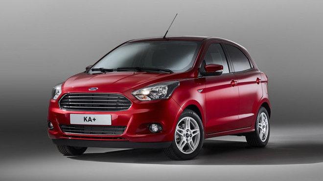Ford Ka+ přichází jako levnější alternativa k Fiestě, předchůdce připomíná jen jménem.