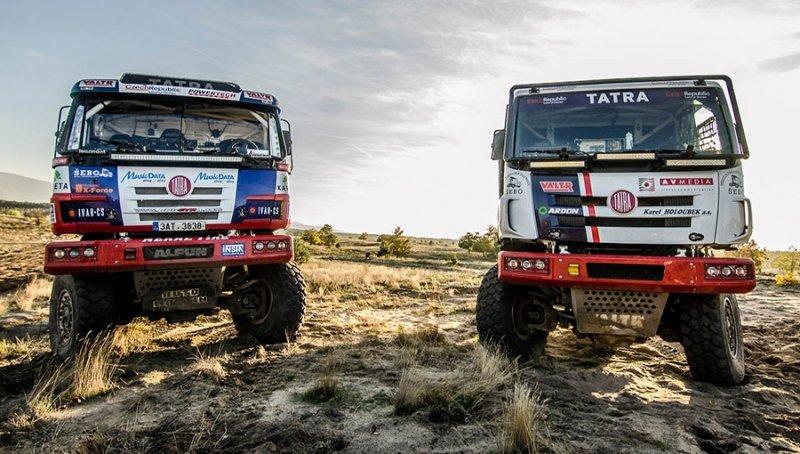 Kopřivnická Tatrovka oslavuje 30. výročí prvního startu na závodě Rally Dakar