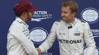 Lewis Hamilton by na rozdíl od Nica Rosberga v Silverstone startoval bez safety caru