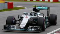 Nico Rosberg v závodě v Kanadě