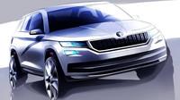 Škoda Kodiaq poprvé oficiálně, tvář konceptu zůstává