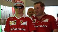 Kimi Räikkönen v Baku