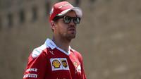 Sebastian Vettel v Baku