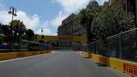 Trať v Baku
