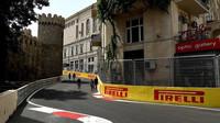 V Baku je trať pro nejrychlejší monoposty místy velmi úzká