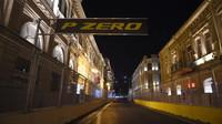 Večerní trať v Baku