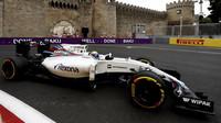 Felipe Massa při tréninku v Baku