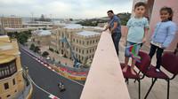 Trénink v Baku