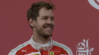 Sebastian Vettel po závodě v Baku