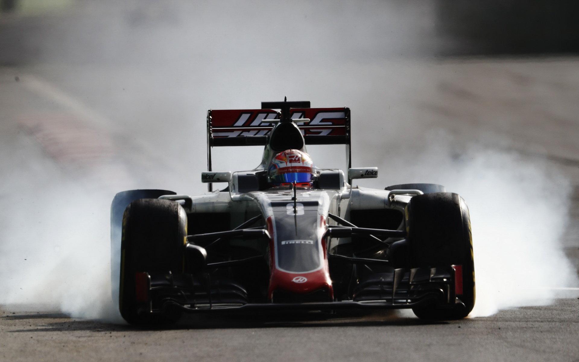 Haas pečlivě zkoumá příčiny problémů s předním křídlem. A není na to sám - anotační foto