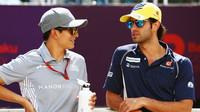 Rio Harjanto a Felipe Nasr v Baku