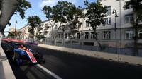 Rio Harjanto v závodě v Baku