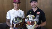 Lewis Hamilton po závodě v Baku