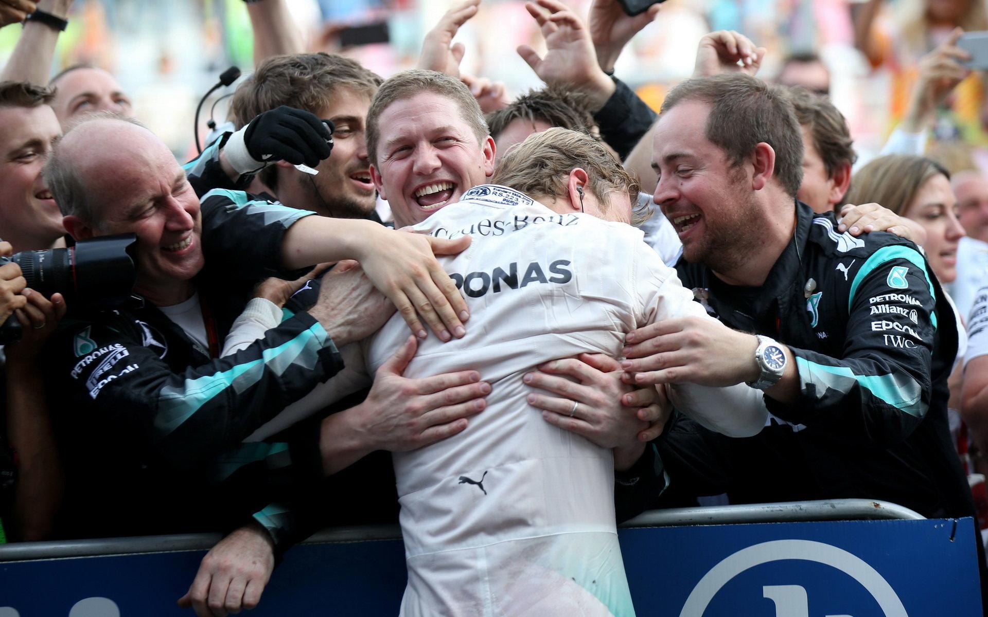 Lauda: S Rosbergem jsme se v podstatě dohodli na dvouleté smlouvě - anotační foto