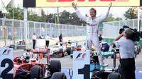 Nico Rosberg po závodě v Baku
