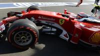 Kimi závodě v Baku