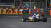 Marcus Ericsson po závodě v Baku