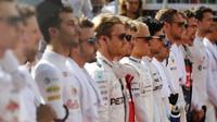Piloti F1 před závodem v Baku