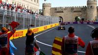 Konec závodu v Baku