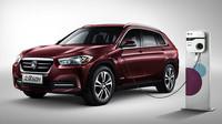 Plug-in hybridní BMW X1 míří do Číny, říká si Zinoro 60H - anotační foto