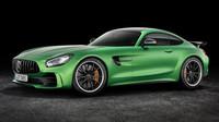 Zelené peklo na silnicích? Mercedes-AMG GT R prožene i ty nejlepší - anotační foto