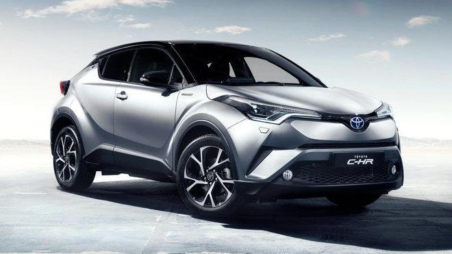 Toyota C-HR se až v 80% případů prodává s hybridní pohonnou jednotkou