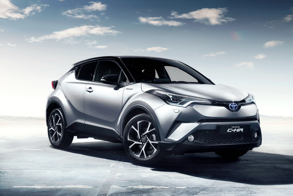 Rozporuplná Toyota C-HR odhaluje interiér, je divoký jako karosérie - anotační foto