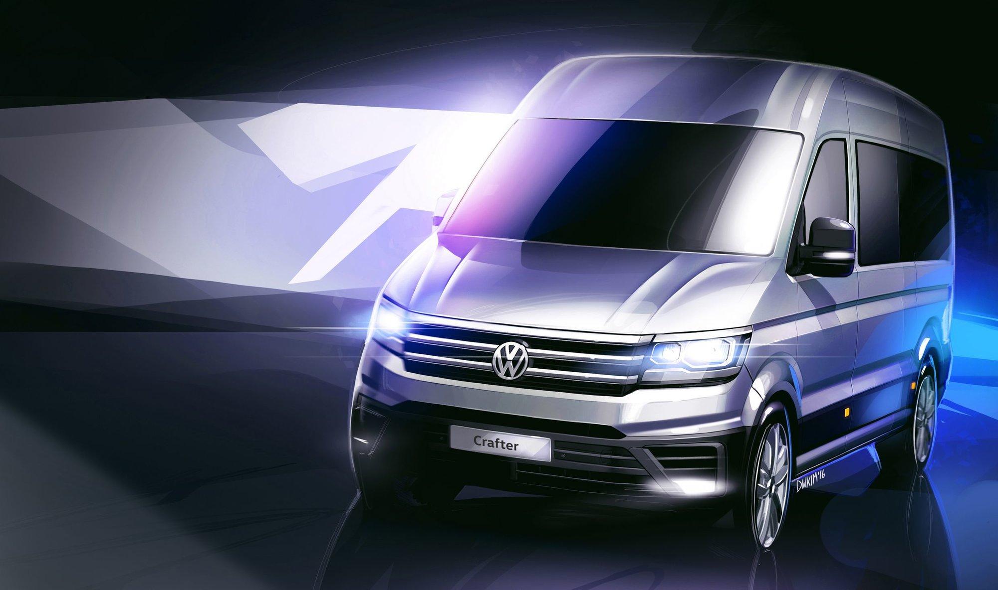 Volkswagen se trhá od Mercedesu, nový Crafter dostane jiného sourozence - anotační foto