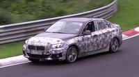 Nové BMW 1 (F52): Předokolkové bávo se trápí na Nordschleife - anotační foto