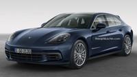 Nejdražší Porsche v nabídce? Možná jím bude kombi Panamera Sport Turismo Wagon - anotační foto