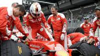 Sebastian Vettel před závodem na Red Bull Ringu