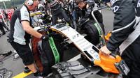 Přední křídlo vozu Force India VJM09 - Mercedes na Red Bull Ringu