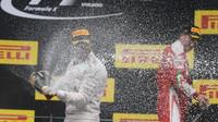 Nejlepší piloti na stupních vítězů po závodě na Red Bull Ringu