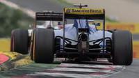 Marcus Ericsson v závodě na Red Bull Ringu