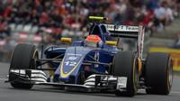 Felipe Nasr v závodě na Red Bull Ringu
