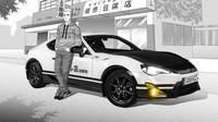 Toyota GT86 Initial D připomíná Sprinter Trueno AE86 z kultovníí mangy.