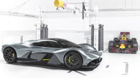 Společný projekt Red Bullu a Aston Martinu: AM-RB 001
