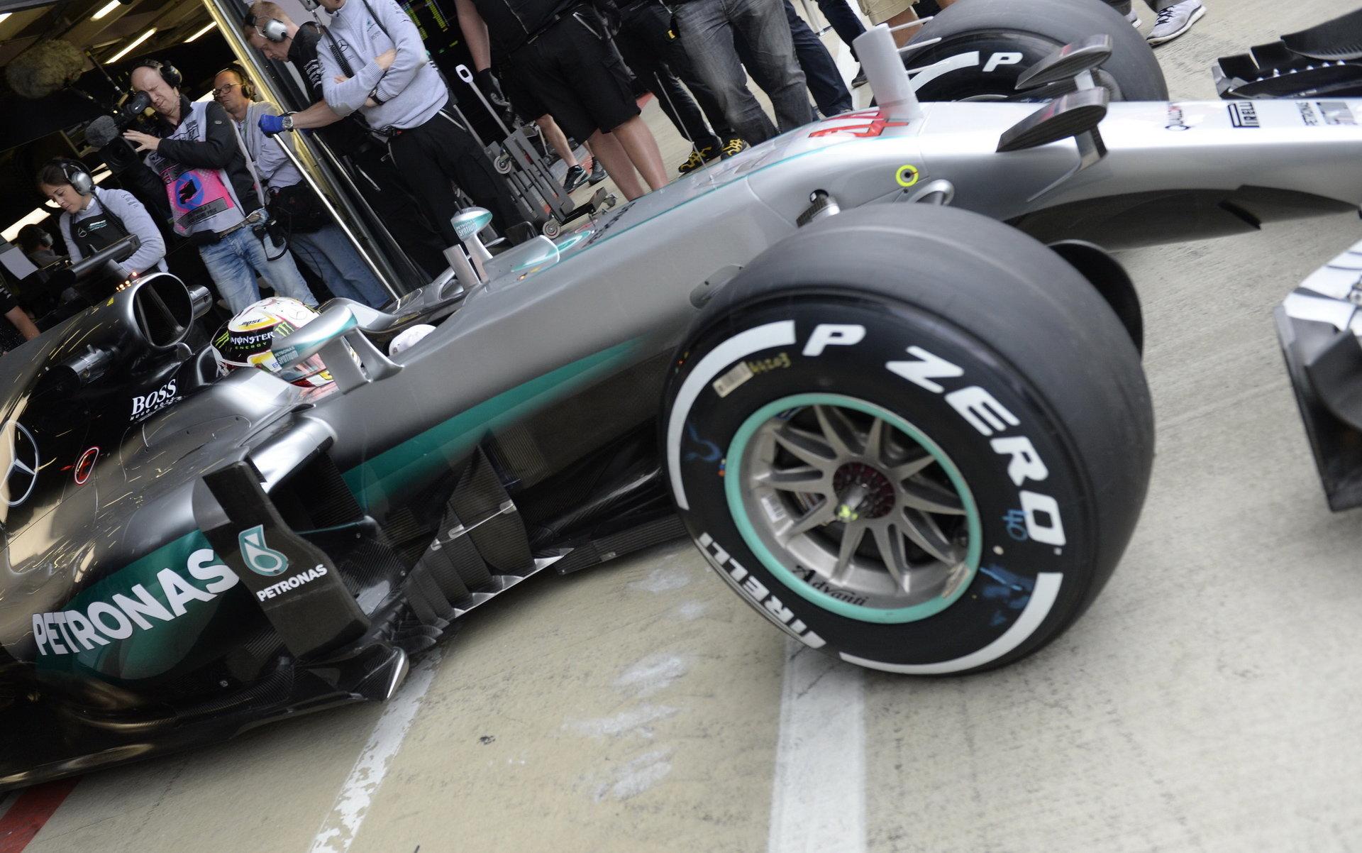 Ve třetím tréninku nejrychlejší Rosberg, Verstappen zaostal jen o tisíciny - anotační foto