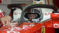 Ferrari s Halo 2 konceptem ochrany jezdce během tréninků v Silverstone
