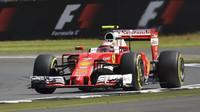 Ferrari ovládlo druhý trénink v Silverstone, Räikkönen se ale musel snažit (ilustrační foto)