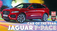 Nejlepší auto roku podle magazínu Auto Express - Jaguar F-Pace.